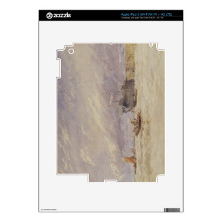 En el Medway, c.1845-50 (w/c con el bodycolour enc iPad 3 Skin