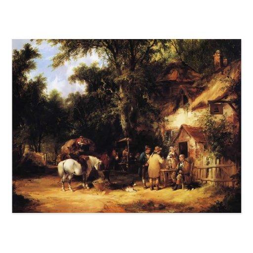 En el mesón de Bell, Cadnam, nuevo bosque de Guill Postal