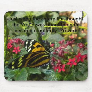 En el momento en que Caterpillar pensó… Tapete De Raton