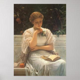 En el naranjal de Charles Edward Perugini Póster