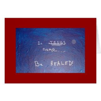 EN EL NOMBRE DE JESÚS - 1118 TARJETA DE FELICITACIÓN