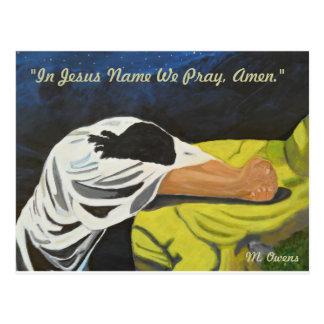 ¡En el nombre de Jesús rogamos, Amen! Postales