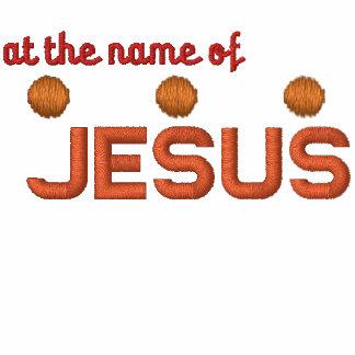 En el nombre de la chaqueta del cristiano de Jesús