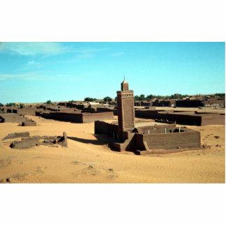 En el oasis de Salah, el más caliente del Sáhara,  Escultura Fotográfica