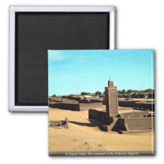 En el oasis de Salah, el más caliente del Sáhara,  Iman
