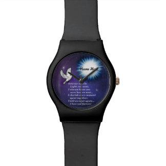 En el pájaro ligero relojes de pulsera
