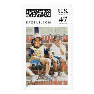En el paso delantero 2002 sellos