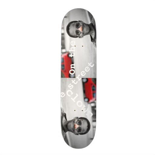 en el payaso de la calle skateboards