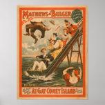 """""""En el poster #2 de la comedia musical de Coney Is"""