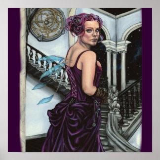 en el poster robado de las ilustraciones del faery