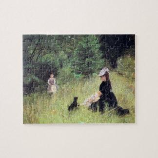 En el prado de Berthe Morisot Puzzle