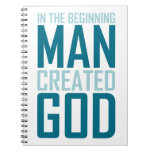 En el principio el hombre creó a dios libreta