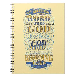 En el principio era la palabra spiral notebook