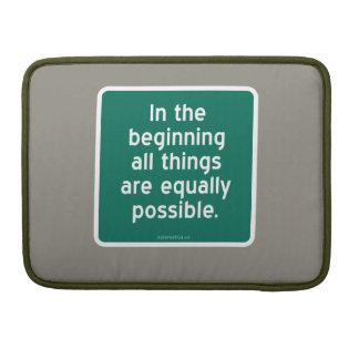 En el principio todas las cosas son igualmente pos fundas para macbooks