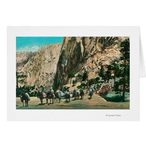En el rastro a las caídas de Nevada, punto del gla Tarjetas