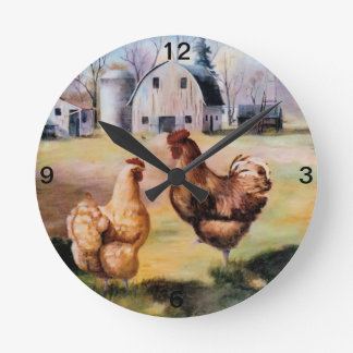 En el reloj de la granja