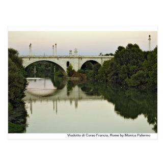 En el río de Tíber Postal
