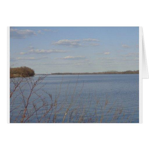 """En el río """"Delaware Felicitacion"""