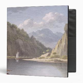 """En el río Elba, cerca de Lowositz en Sajonia, Carpeta 1 1/2"""""""