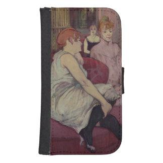 En el salón en el DES Moulins de la ruda, 1894 Billetera Para Teléfono