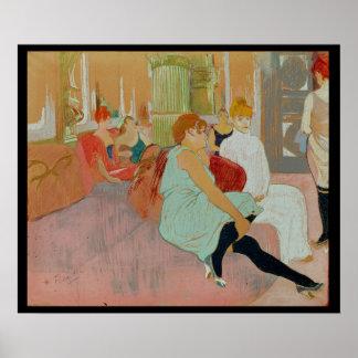 En el salón en el DES Moulins de la ruda 1894 Impresiones