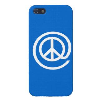 En el signo de la paz iPhone 5 funda