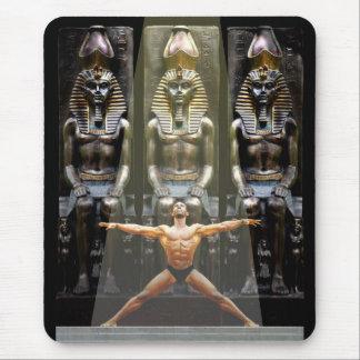 En el templo de Ramses III Alfombrillas De Ratón