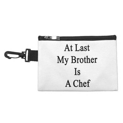 En el último mi Brother es cocinero
