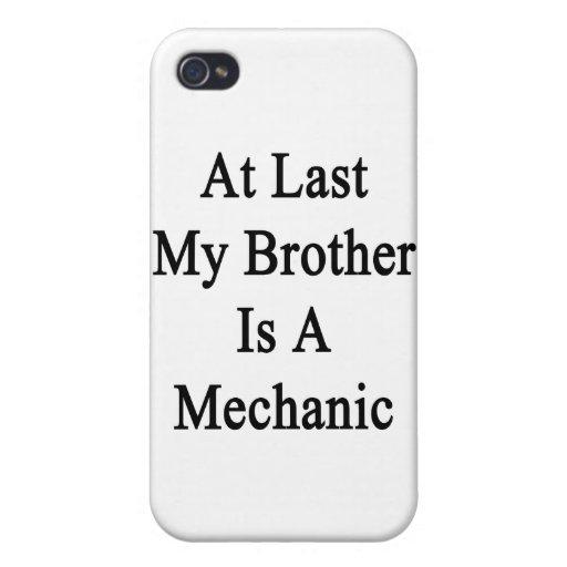 En el último mi Brother es mecánico iPhone 4 Coberturas
