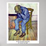 En el umbral de eternidad de Vincent van Gogh Impresiones