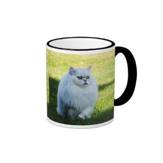 En el vagabundeo taza de café