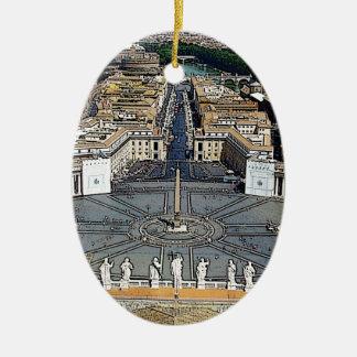 En el Vatican Ornamentos De Navidad