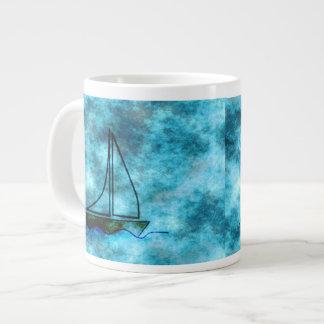 En el velero tempestuoso de los mares taza grande
