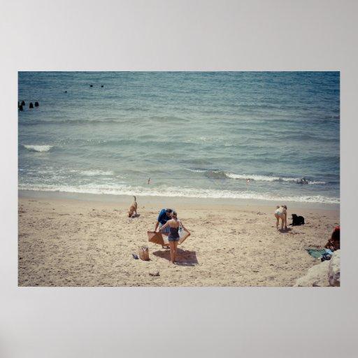 En el verano póster
