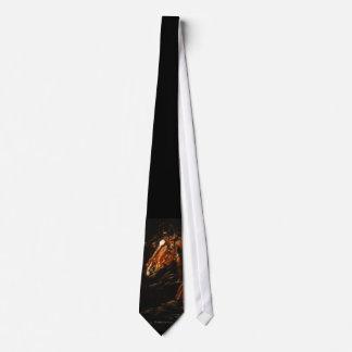 En el viento corbata