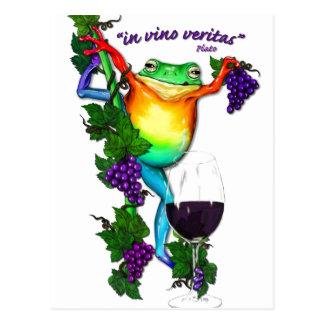 En el vino Veritas Postal