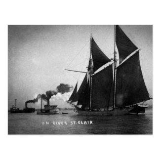 En el vintage Louis Pesha 1900 del St. Clair del Tarjeta Postal