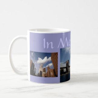 """""""en el World Trade Center NYC de las torres gemela Taza De Café"""