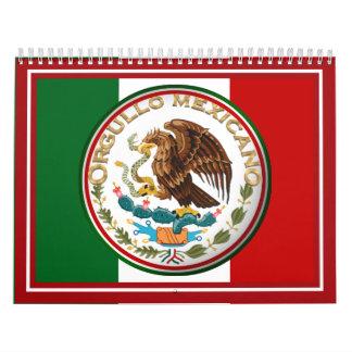 En Espanol - marco de la foto de ORGULLO MEXICANO Calendarios De Pared