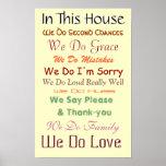 En esta casa amamos el poster
