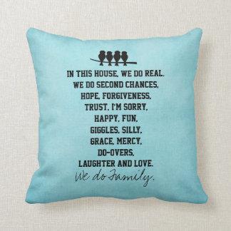 En esta casa hacemos cita de la familia almohada