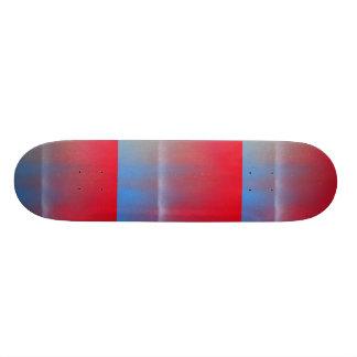 En este crepúsculo tabla de skate