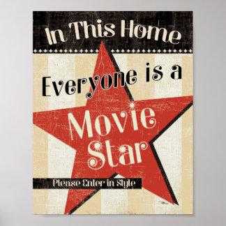 En este hogar cada una es una estrella póster