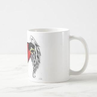 En estela de las noches tazas de café