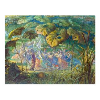 En Fairyland: Una danza Elfin Postal