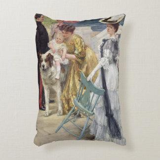 En Famille Accent Pillow