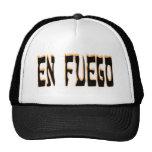 En Fuego (en el fuego) Gorras De Camionero