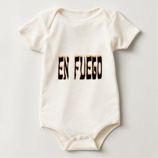 En Fuego (on fire) Baby Bodysuit