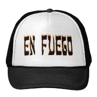 En Fuego (on fire) Trucker Hat