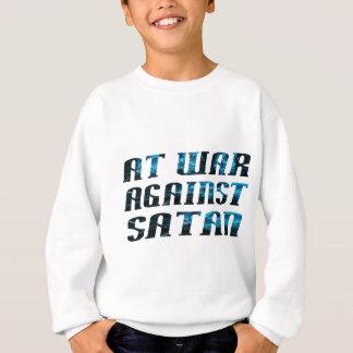 En guerre contre Satan Sweatshirt